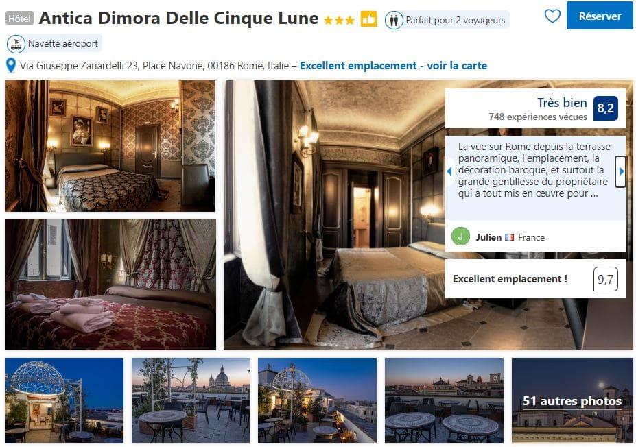 antica-dimora-hotel-romantique-rome