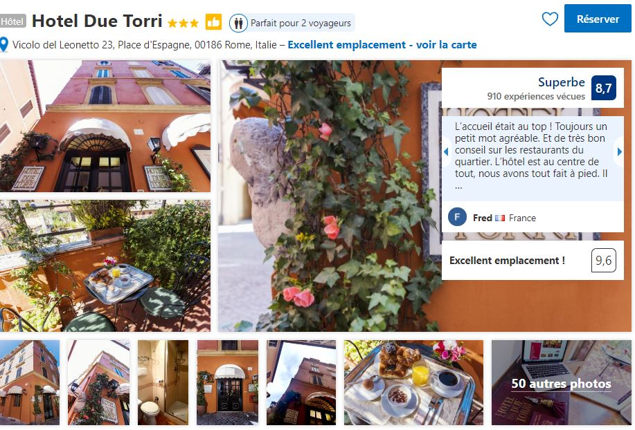 hotel-due-torri-entre-fontaine-trevi-et-palce-navona