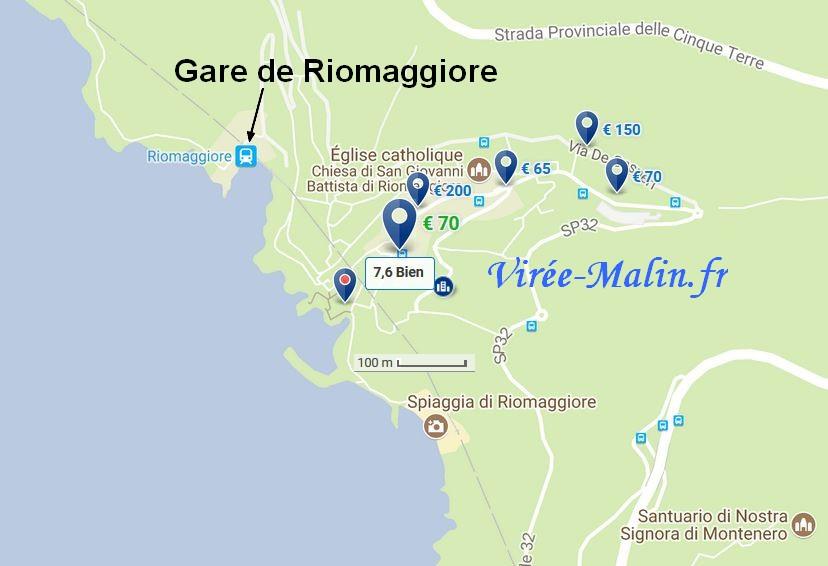 hotelmap-Riomaggiore