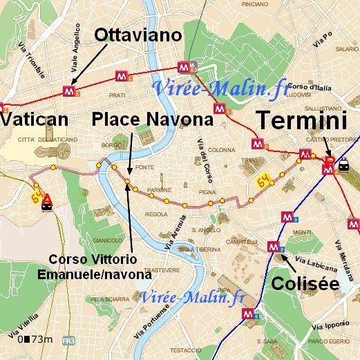 rejoindre-place-navona-depuis-termini-bus-atac-64