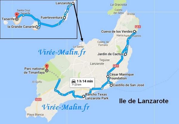que visiter à Lanzarote