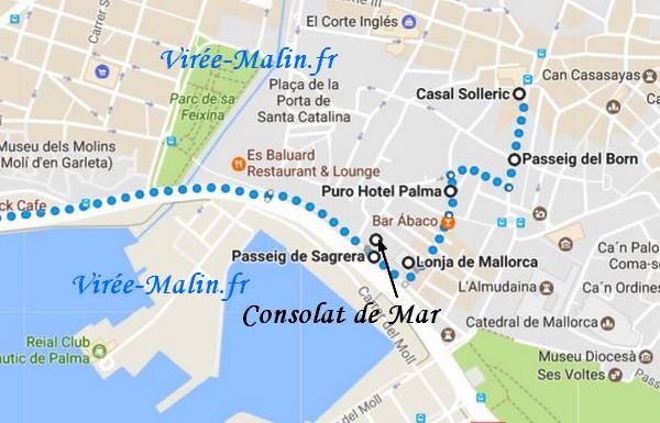 que-voir-palma-majorque-googlemap