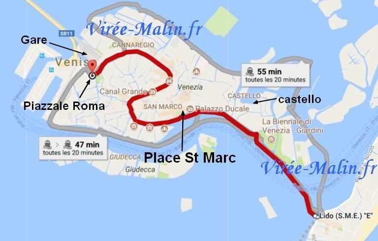 ligne 1 vaporetto Venise