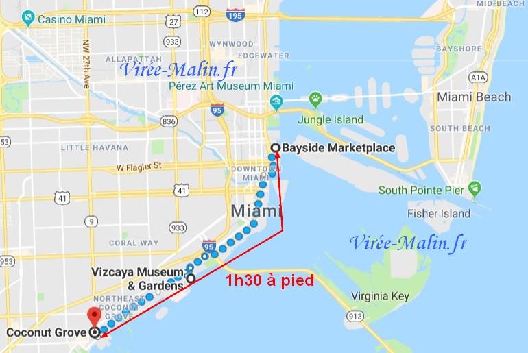 visiter-Coconut-Grove-et-villa-Vizcaya-Miami