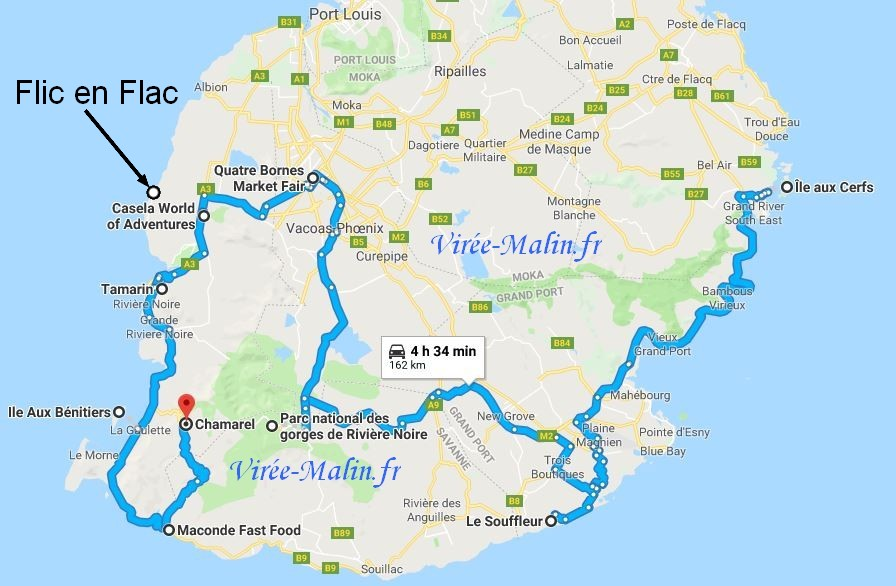 visite-ile-Maurice-Googlemap