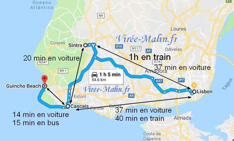 visiter-sintra-cascais-googlemap