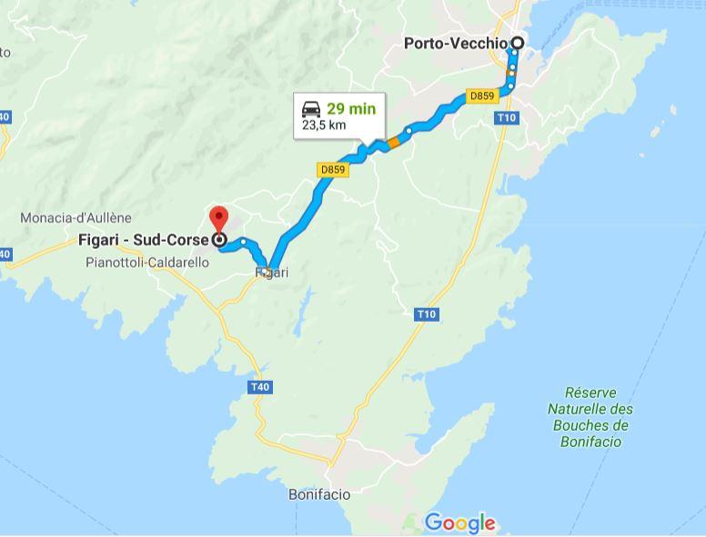 comment-rejoindre-porto-vecchio-depuis-aeroport-figari