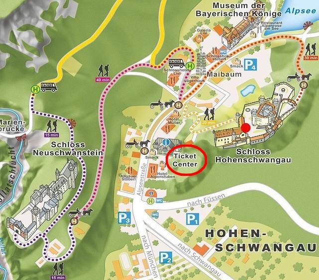 reserver-billet-chateau-Neuschwanstein-Hohenschwangau