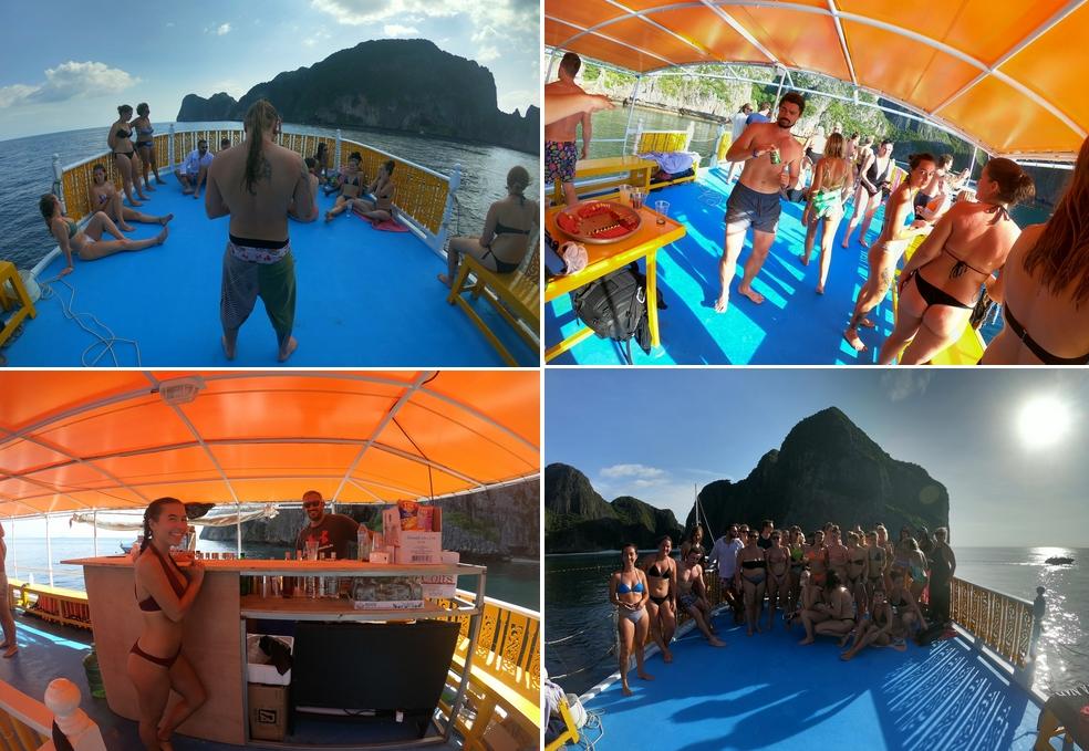 fete-sur-bateau-koh-phi-phi-apero-snorkelling