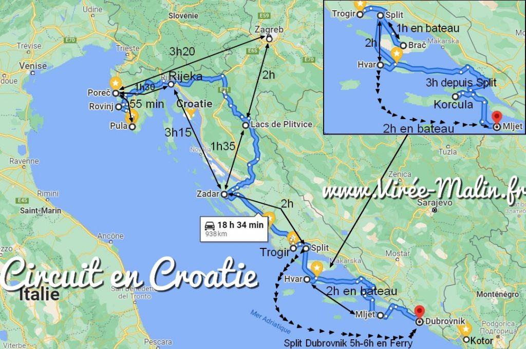 visiter-croatie-2-semaines
