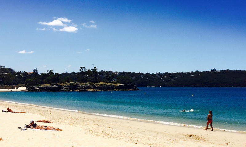 sydney-rejoindre-Balmoral-Beach