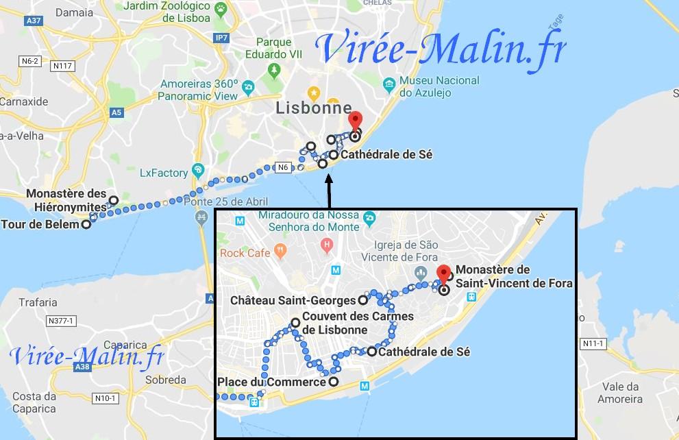 itineraire-visite-lisbonne-carte