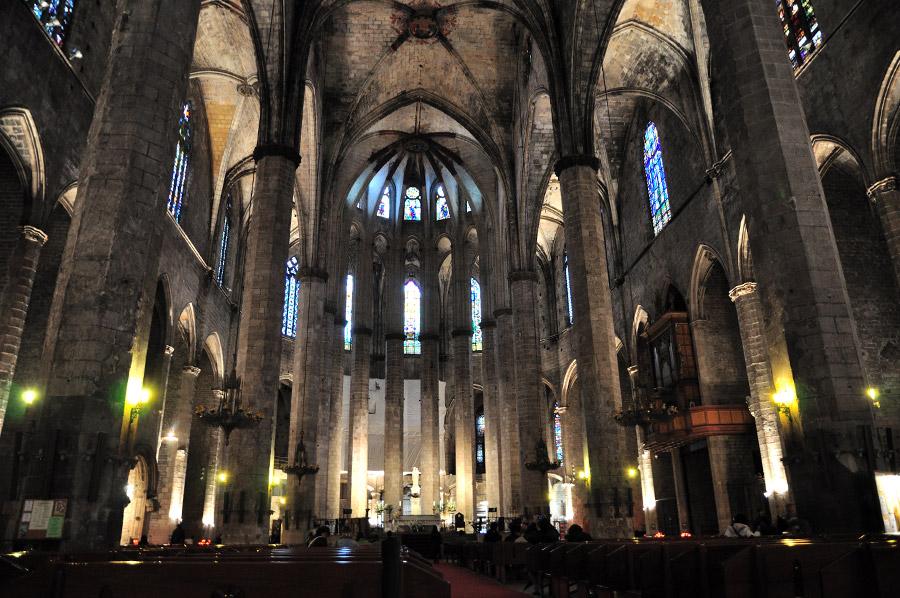 visite-eglise-Santa-Maria-del-Mar-barcelone
