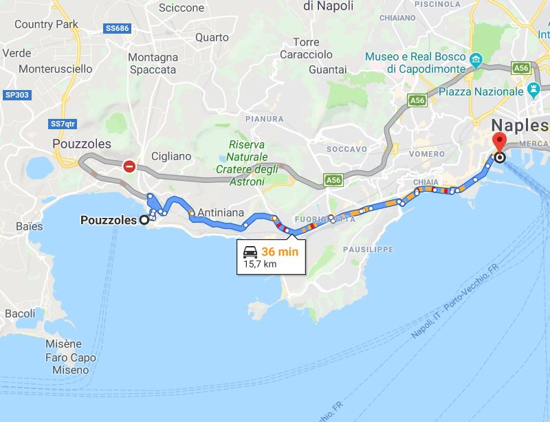 adresse port Naples pour Ischia Procida