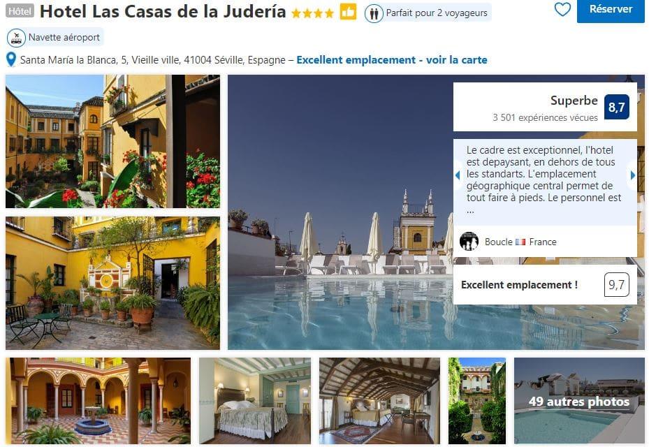 hotel-seville-avec-piscine-las-casas-de-la-juderia