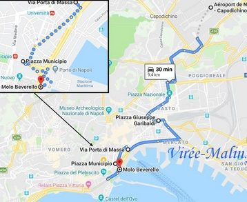rejoindre-naples-depuis-aeroport-bus-taxi-navette