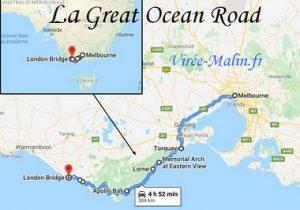 Visiter la Great Ocean Road et où dormir sur la Great Ocean Road
