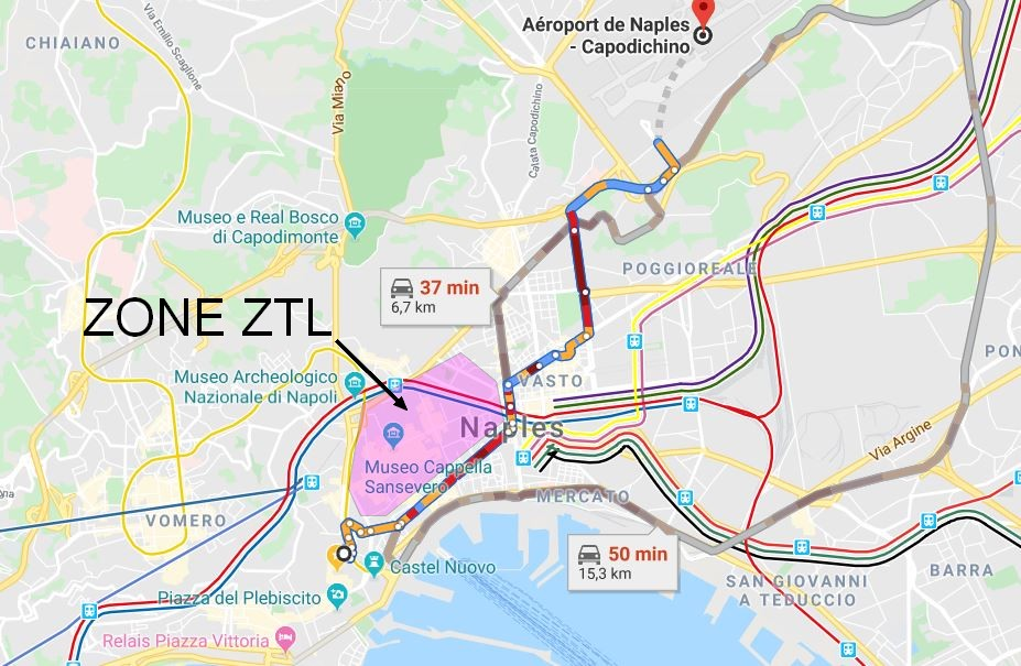 transfert-parking-naples-sans-passer-ztl-depuis-aeroport