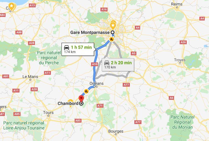 carte-chambord-depuis-paris