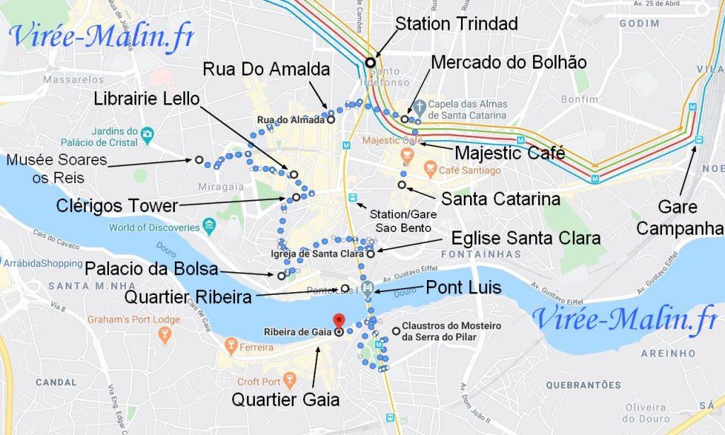 itineraire-voyage-porto
