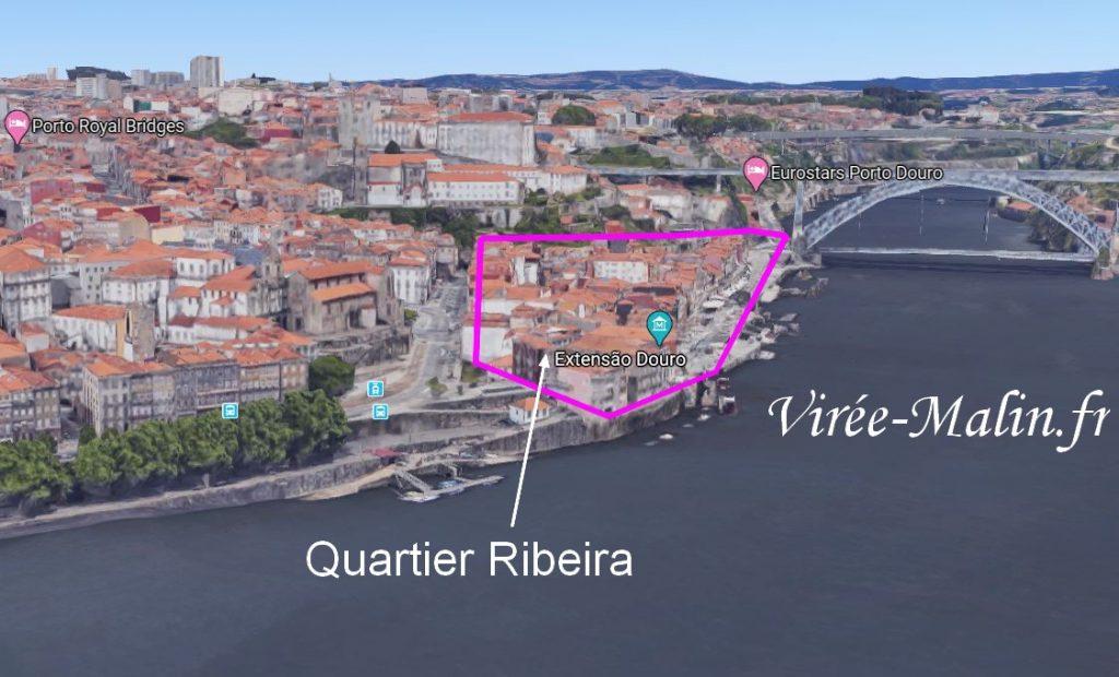 quartier-ribeira-porto-carte-3D