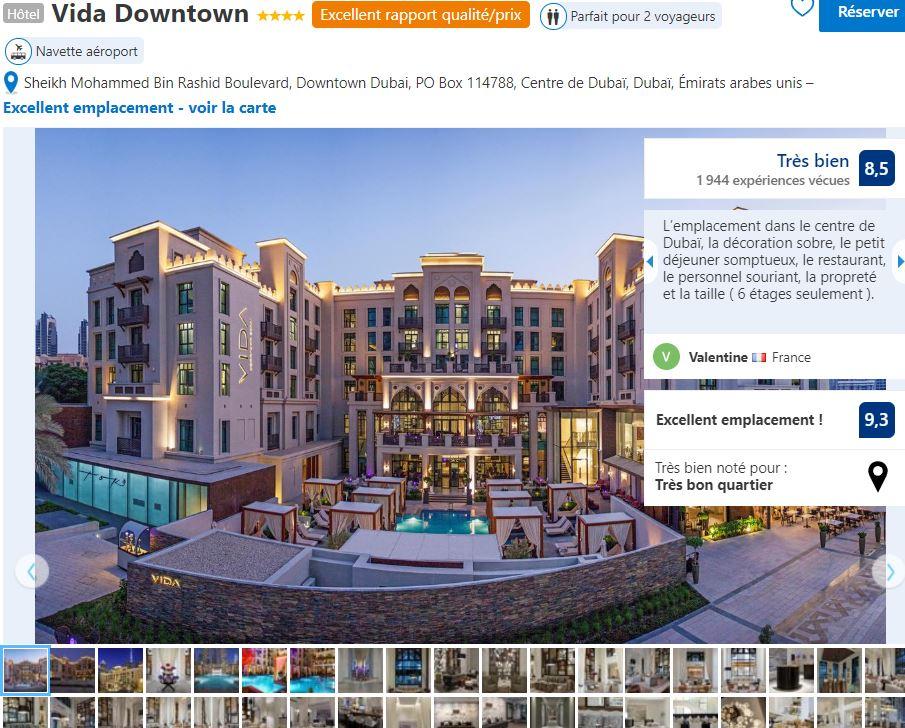 vida-downtown-dubai-hotel-bien-placé