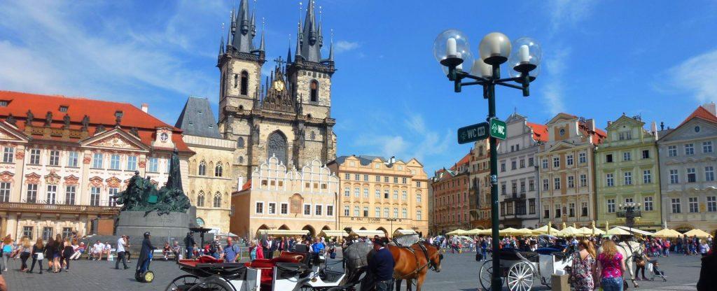 Visiter les capitales de l'Europe Centrale
