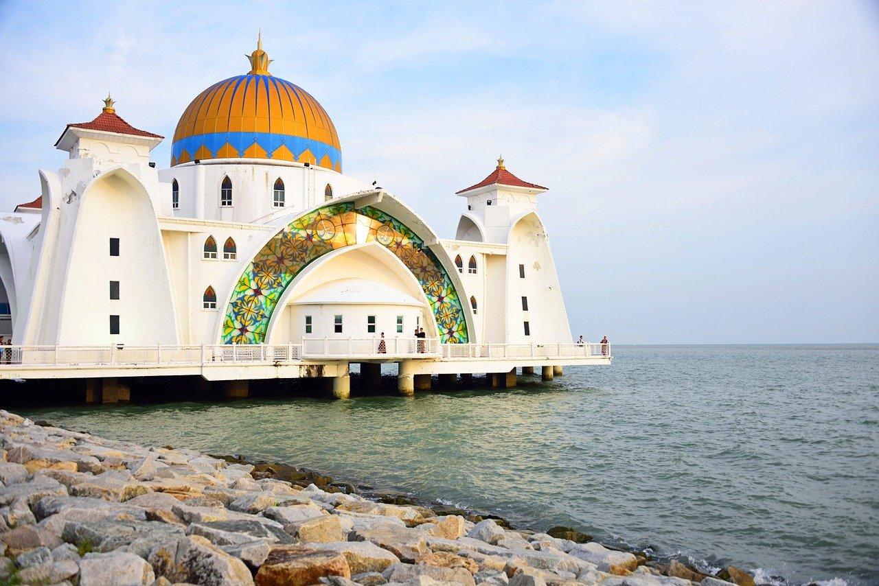 La-Mosquée-Masjid-Selat-Melaka