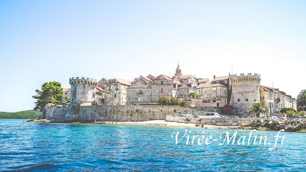 Korcula-croatie-location-bateau