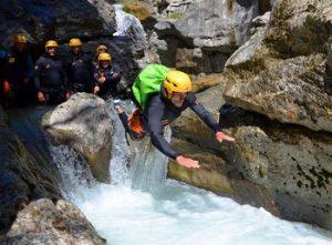 Canyoning depuis Saint Lary - Les Canyons du mont perdu et de la sierra de Guara