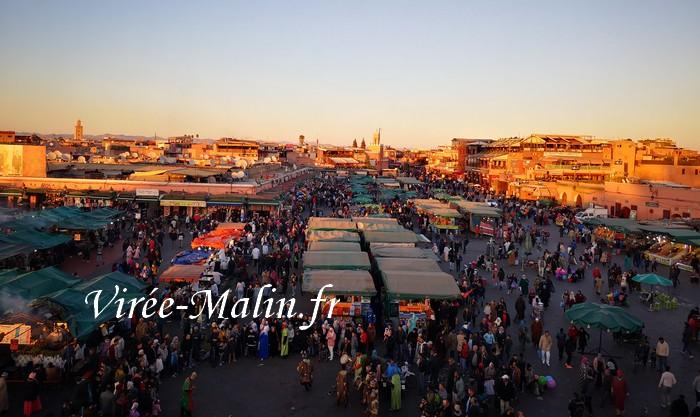 rejoindre-place-jemma-el-fna-depuis-aeroport-marrakech