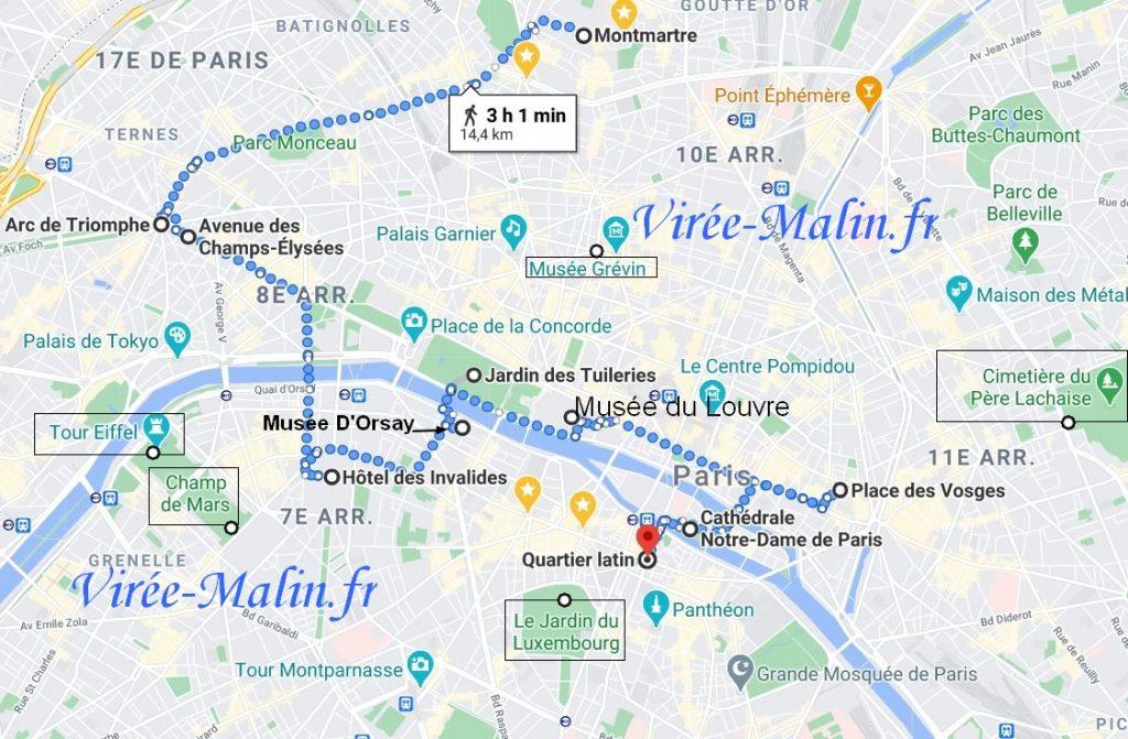 GoogleMap-visiter-paris
