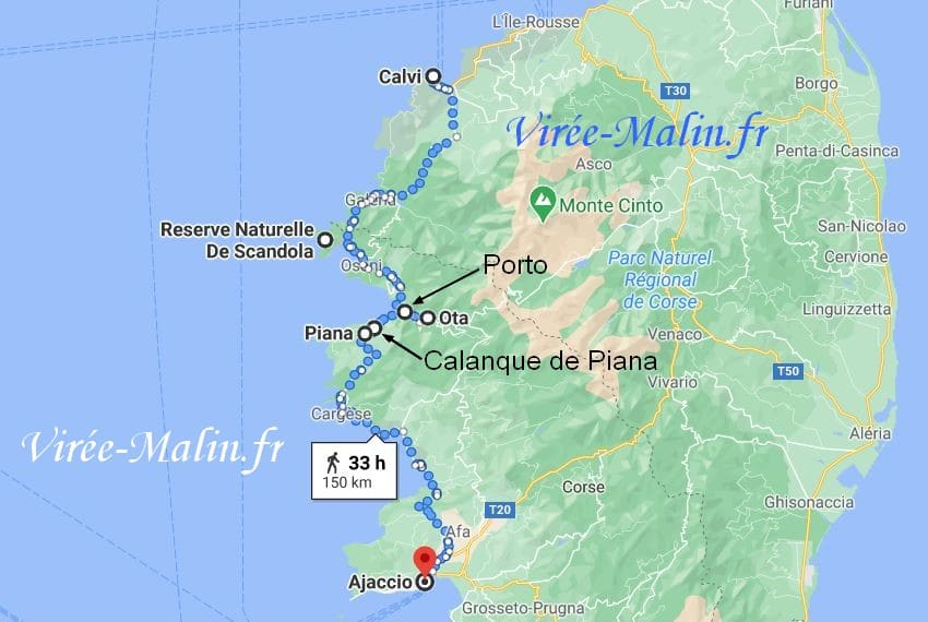 calanque-de-piana-corse-googlemap