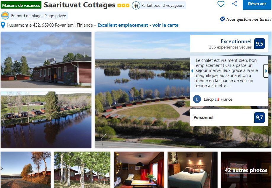 cottages-bord-lac-rovaniemi-laponie