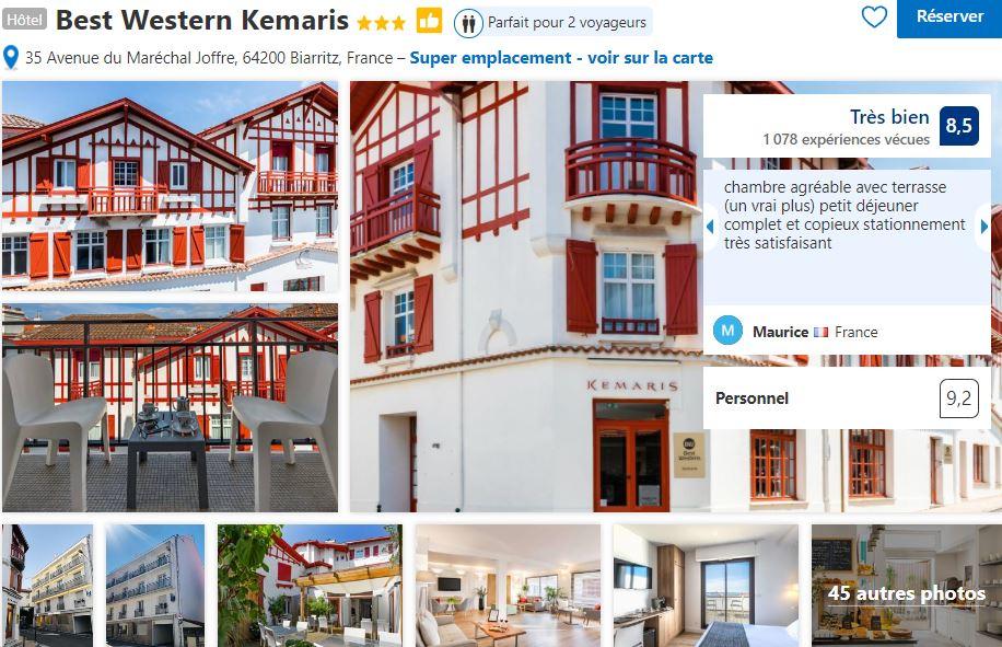 best-western-biarritz-proche-quartier-beaurivage