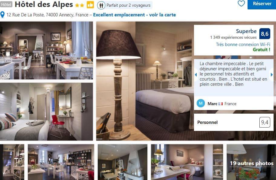 hotel-des-alpes-annecy-proche-gare