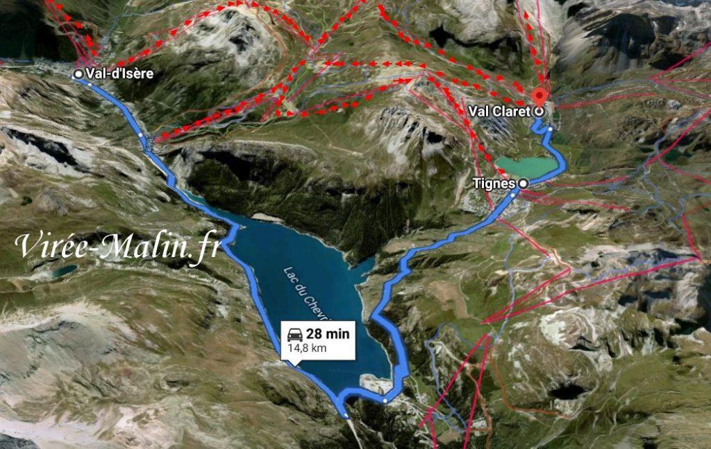 Loger à Tignes ou à Val d'Isère