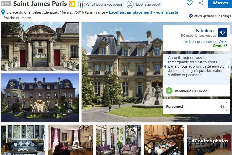 Saint-james-paris-palace