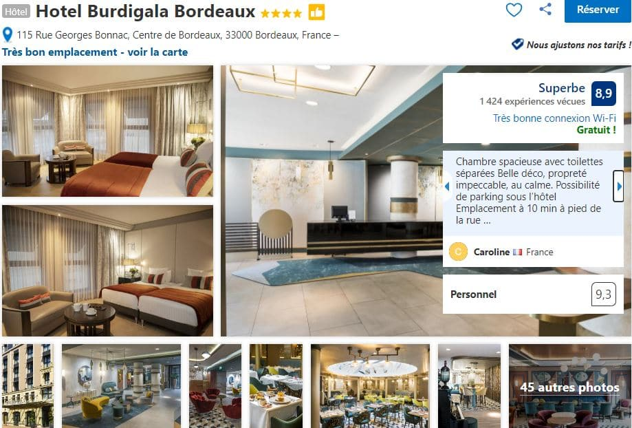 hotel-burdigala-4-etoiles-bordeaux