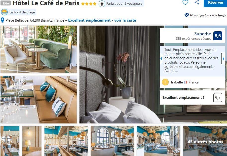 hotel-le-cafe-paris-biarritz-4-etoiles