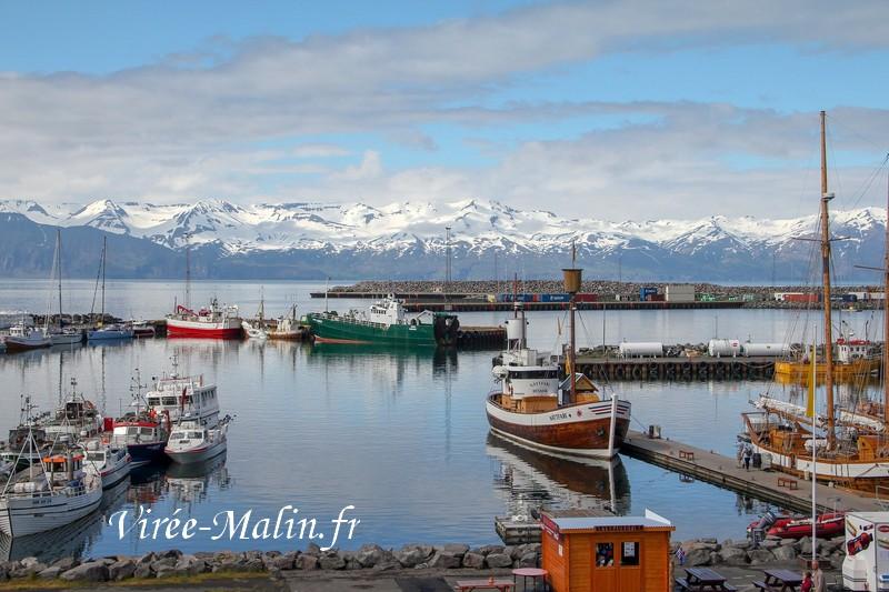 Port-Husavik-islande