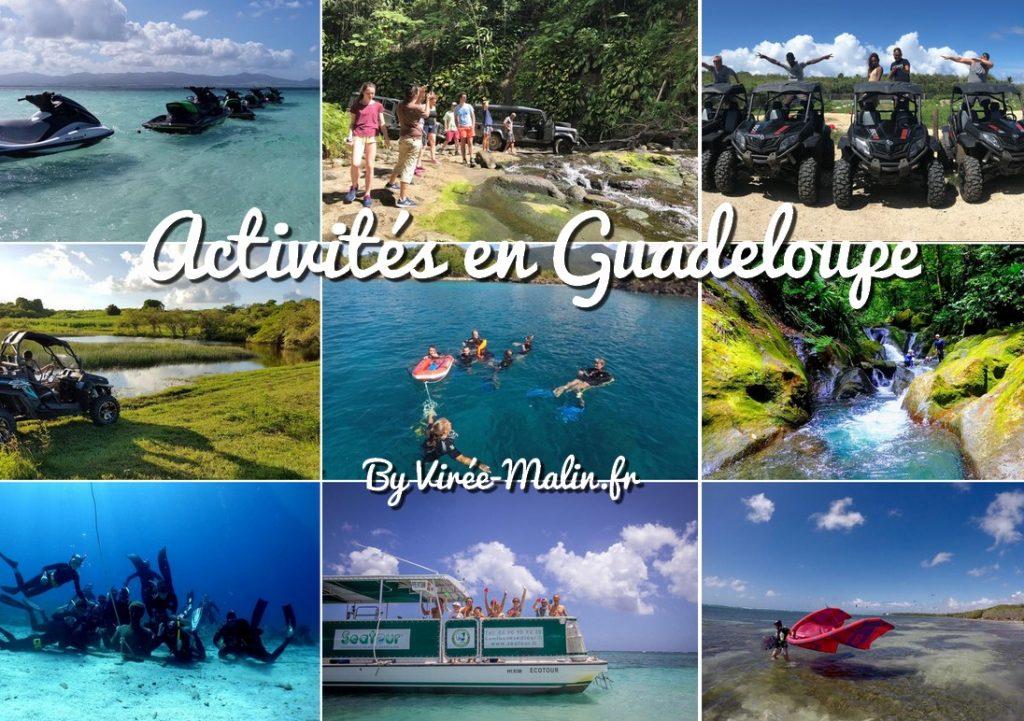 activités-Guadeloupe