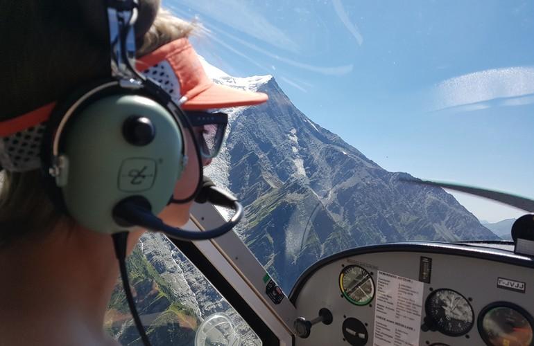 bapteme-ulm-Chamonix-mont-blanc-depuis-sallanches