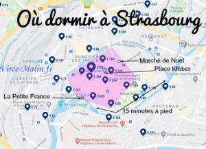 Où dormir à Strasbourg