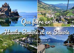 Que faire en Savoie et Haute-Savoie