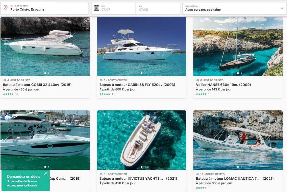 reserver-bateau-porto-cristo-majorque