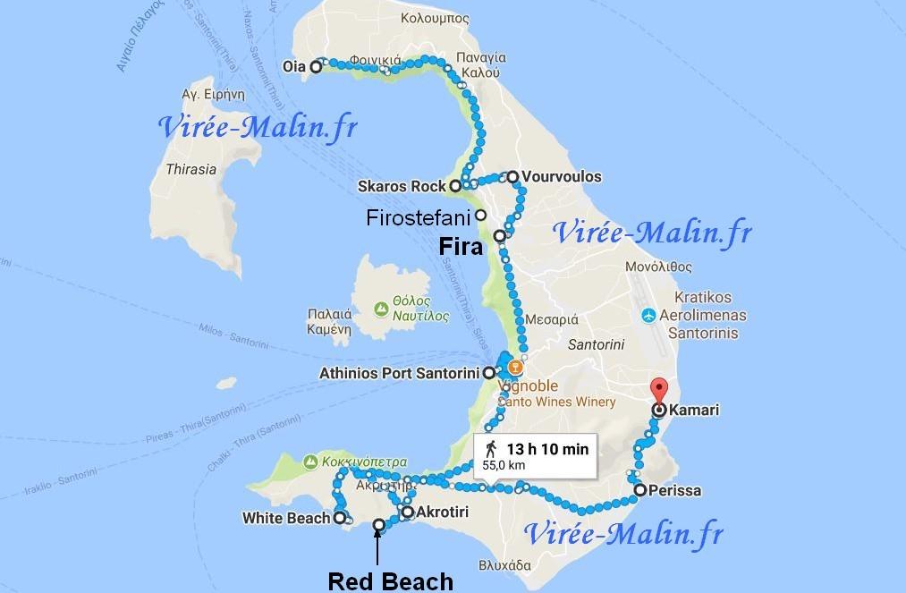 visiter-santorin-googlemap