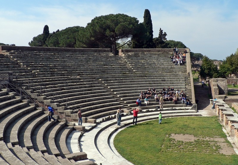 Ostia-grand-theatre