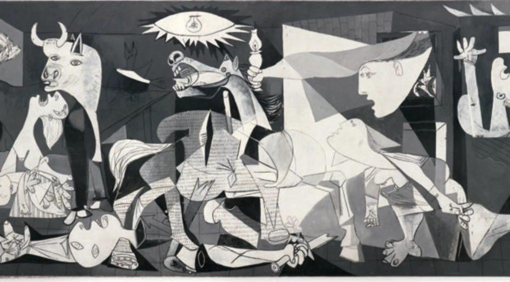Guernica de Picasso au Musée Reina Sofia de Madrid