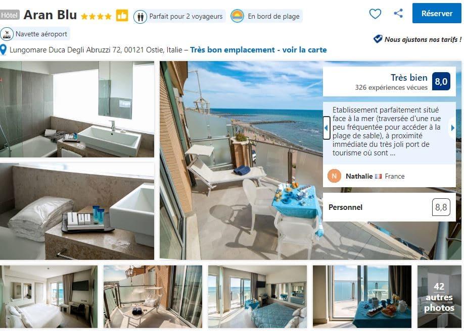 hotel-proche-plage-ostie